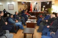 DOĞALGAZ HATTI - 86 Konutlar Sitesi'nin Hak Sahiplerinden Başkanı Acar'a Teşekkür Ziyareti