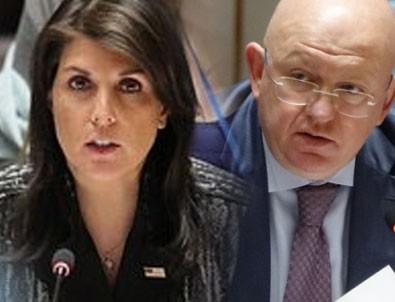 ABD ve Rusya'dan BMGK'de Suriye atışması
