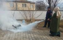 SÖNDÜRME TÜPÜ - Adilcevaz'da Öğretmenlere Yangın Tatbikatı