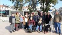 SEMPATIK - Akülü Sandaliyesi Eskiyen Engelliye Anlamlı Destek