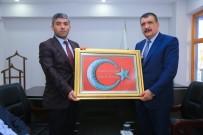 SERVİSÇİLER ODASI - Başkan Gürkan, Esnaf Odalarını Ziyaret Etti