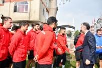 EYÜPSPOR - Başkan Taban'dan İnegölspor'a Ziyaret