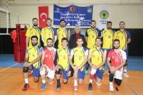 CİZRE BELEDİYESİ - Cizre Belediyesi Erkek Voleybol Takımımız Lider