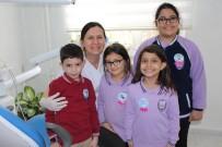 DİŞ ÇÜRÜĞÜ - Diş Polikliğine Başvuran Çocuklara Üstün Cesaret Madalyası