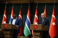 CİNSİYET EŞİTLİĞİ - Erdoğan-Barrow Ortak Basın Toplantısı