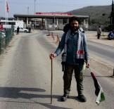 TEKSTİL İŞÇİSİ - Filistin'deki Zulme Dikkat Çekmek İçin 54 Gün Yürüdü