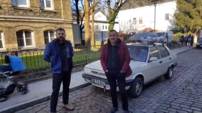 İddia Üzerine 1989 Model Araçla Avrupa Turu Yaptılar
