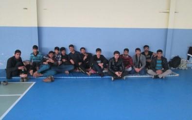 Isparta'da Düzensiz Göçmen Operasyonu