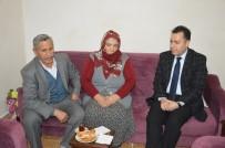 SELAMI KAPANKAYA - Kaymakam Kapankaya'dan Afrin'de Yaralanan Askerin Ailesine Ziyaret