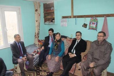 Kaymakamdan Şehit Ailesine Ziyaret