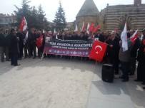 SÜLEYMAN ŞAH - Memur-Sen Başkanı Oktay Cebeci Açıklaması 'Anadolu Ayakta Emperyalizme Karşıyız'