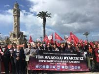 MEMUR SEN - Memur- Sen İzmir'den Zeytin Dalı Harekatı' Tam Destek