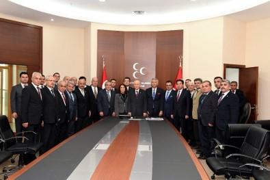 MHP Lideri Bahçeli, Başkan Günaydın'ı Kabul Etti
