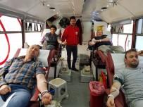 DÜZAĞAÇ - Öğrenci Velilerinden Kızılay'a Kan Bağışı