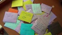 MEHMET ÇIÇEK - Öğrencilerden Zeytin Dalı Harekatı'na Destek