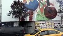 TAKSIM - (Özel) Eski Maksim Gazinosu Yerindeki Otel İnşaatında Yangın