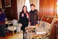 PARİS BÜYÜKELÇİSİ - Paris'teki 70 Ülkenin Büyükelçilerinin Eşleri, Türkiye Büyükelçiliği Rezidansında