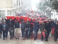 SÜLEYMAN ŞAH - Pazarlar'da 'Tüm Anadolu Ayaktayız, Emperyalizme Karşı Savaştayız' Mitingi