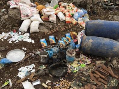 Şırnak'ın Cudi Dağı'nda 2 Mağara Ve Bir Barınak İmha Edildi