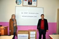 MEHMET ÇIÇEK - Suriye Sınırında Mehmetçiğe Sevgi Bir Başka