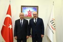 ANKARA TİCARET ODASI - Tacikistan Büyükelçisi Rajabiyon'dan ATO'ya Ziyaret