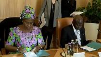 SAĞLıK BAKANı - TBMM Başkanı Kahraman, Gambiya Cumhurbaşkanı Barrow İle Görüştü