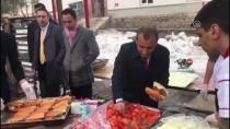 Tunceli Valisi Sonel'den Mehmetçik'e Pirzola İkramı