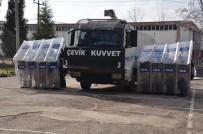 TOPLUMSAL OLAYLAR - Uşak'ta Çevik Kuvvet Göreve Hazır