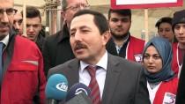 İRFAN BALKANLıOĞLU - Vali Balkanlıoğlu Kanser Hastası Utku İçin Kan Verdi