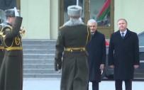 TEMSİLCİLER MECLİSİ - Yıldırım Belarus'ta Resmi Törenle Karşılandı