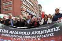 SÜLEYMAN ŞAH - Zonguldak'ta Sivil Toplum Kuruluşlarından Afrin'e Destek