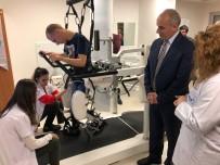 YÜRÜME CİHAZI - 22 Yıl Sonra İlk Kez Robotla Yürüdü