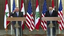 LÜBNAN CUMHURBAŞKANI - ABD Dışişleri Bakanı Tillerson'a Lübnan'da 'Soğuk Karşılama' İddiası