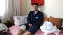 MUSTAFA ÇETIN - Afrin Gazisi Mersin'deki Evine Getirildi