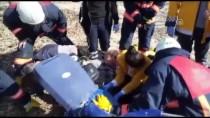 Ayağını Çapa Makinesine Kaptıran Kişi Ağır Yaralandı