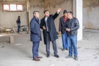 ŞEHITKAMIL BELEDIYESI - Başkan Fadıloğlu Seyrantepe Ticaret Merkezini İnceledi