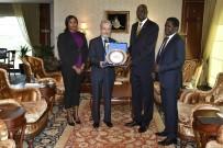 MOĞOLISTAN - Başkan Tuna'ya Büyükelçilerden Ziyaret