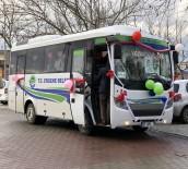 TOPLU NİKAH TÖRENİ - Belediye Otobüsü Gelin Arabası Oldu