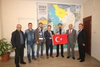 MUSTAFA ÜNAL - Beyşehir Belediyesinde Bayrak Yarışması Ödül Töreni