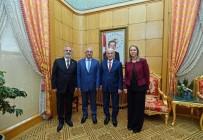 NIHAT ERI - Eri'den TBMM Başkanı İsmail Kahraman'a Ziyaret