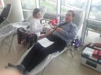 SAĞLIK PERSONELİ - Hastane Çalışanları Kan Ve Kök Hücre Bağışında Bulundu