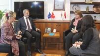 İSLAMOFOBİ - İHİK Başkanı Serdar,  Sollorano'yla Bir Araya Geldi