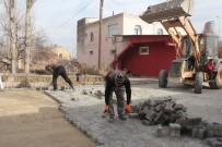 SARAYCıK - İncesu Belediye Başkanı Zekeriya Karayol Parke Çalışmalarını Yerinde İnceledi