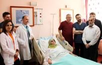 YÜKSEK TANSİYON - Kalbe Giden Damarı Yırtılan Kadın, Anjiyo Ameliyatıyla Sağlığına Kavuştu