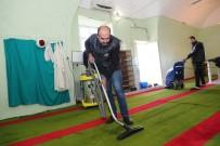 Mardin'de İbadethaneler Temizleniyor