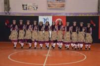 HALK OYUNLARI YARIŞMASI - Muş'ta Okullar Arası Halk Oyunları Yarışması