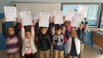 OSMAN KıLıÇ - Öğrencilerden Afrin'deki Askerlere Moral Mektubu