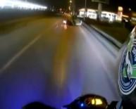 METRO İSTASYONU - Yola Dökülen Mazot Motosikletlileri Canından Ediyordu