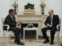 VLADIMIR PUTIN - Putin Ve Ürdün Kralı 2. Abdullah Bir Araya Geldi