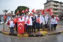 Soma'dan Afrin'e İstiklal Marşı İle Destek